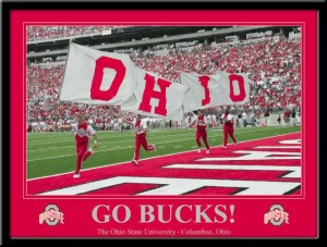 Ohio State Football Poster